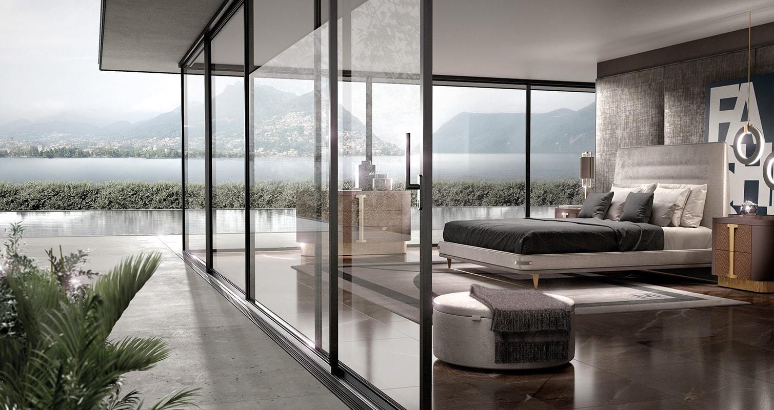 Camere da letto luxury - Valderamobili