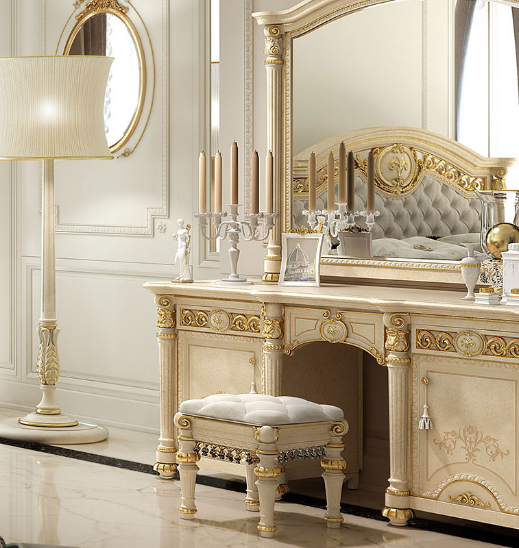 Camera Matrimoniale Stile Antico.Camere Da Letto In Stile Valderamobili