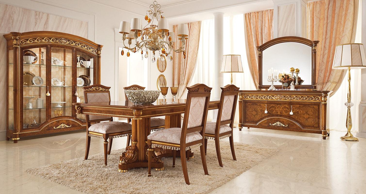 Living classico valderamobili for Arredamento casa classico